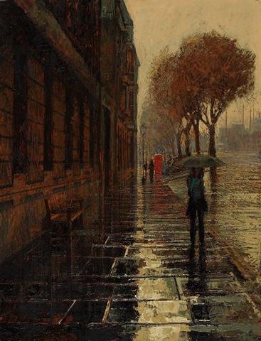 المطر في الشتاء