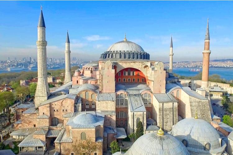 اسطنبول تركيا مسجد متحف كنيسة اوردوغان