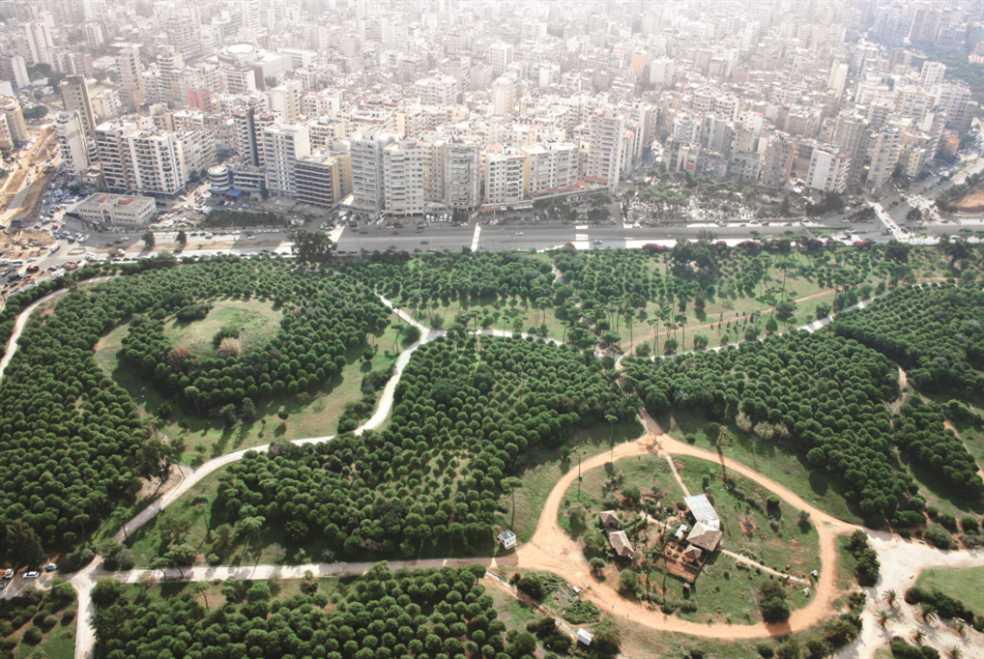 حرش بيروت - قرب مدخل المدينة الجنوبي