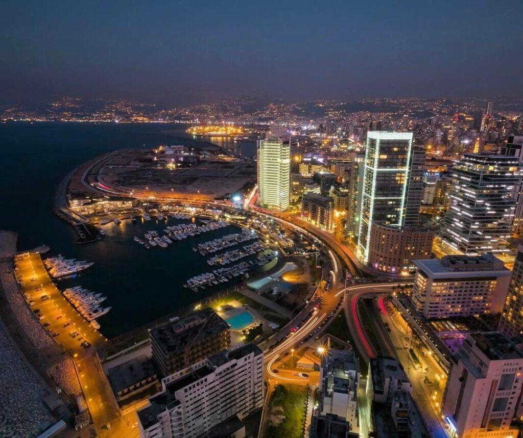 بيروت في الليل